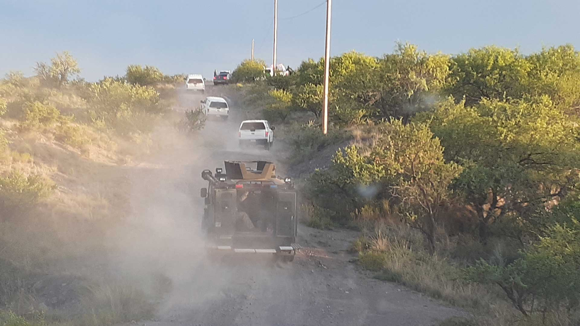 A photo accompanying a media release from No More Deaths saying Border Patrol on Friday, July 31 raided a camp where the group was providing aid.
