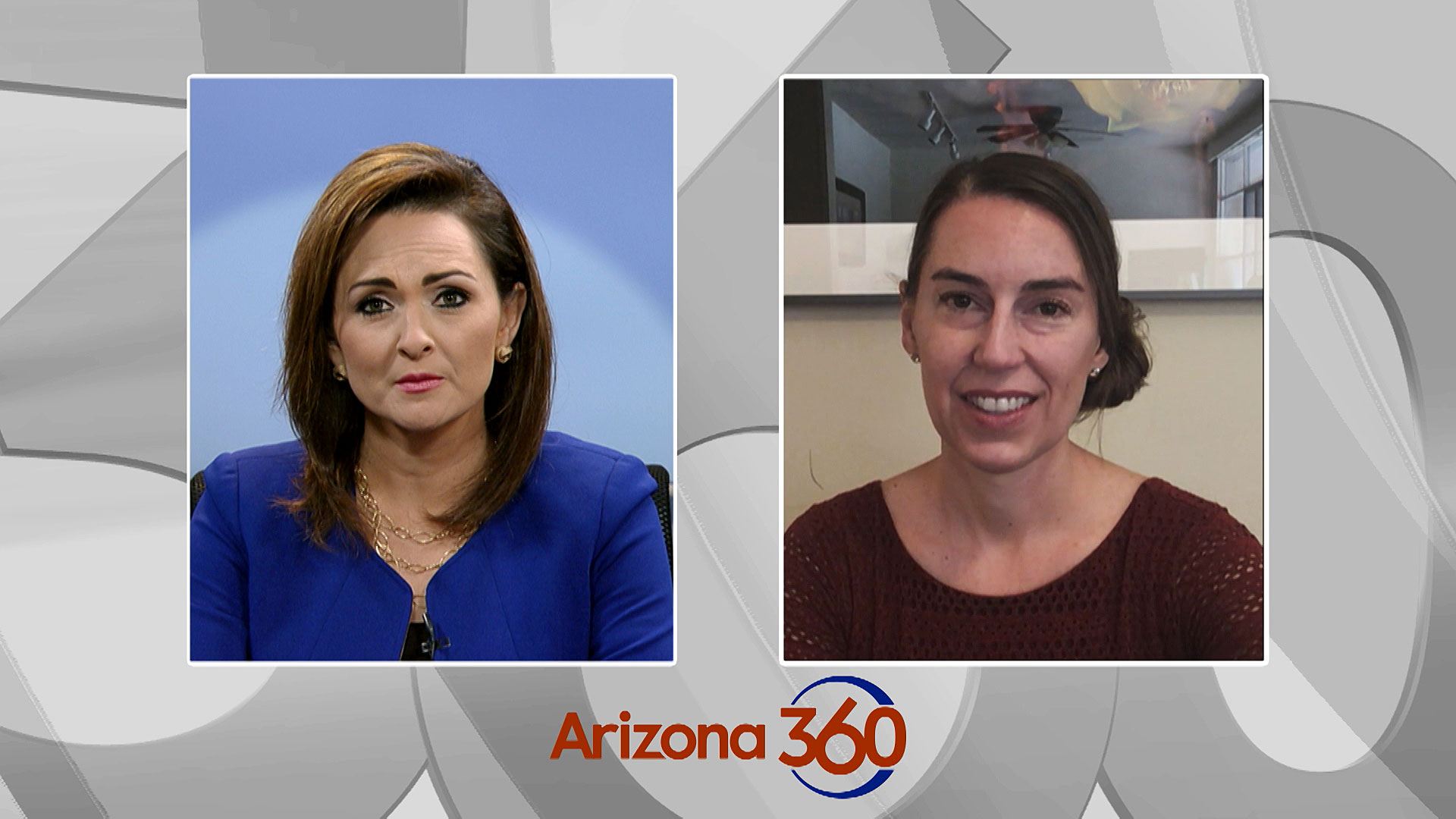 Laura Conover, the Democratic nominee for Pima County Attorney, interviews with Arizona 360 host Lorraine Rivera on August 18, 2020.
