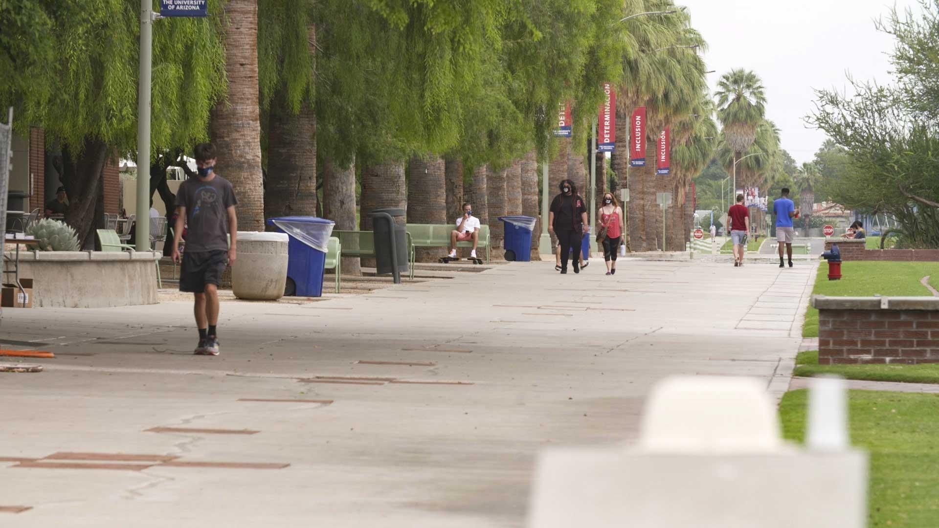 UA campus 20200825