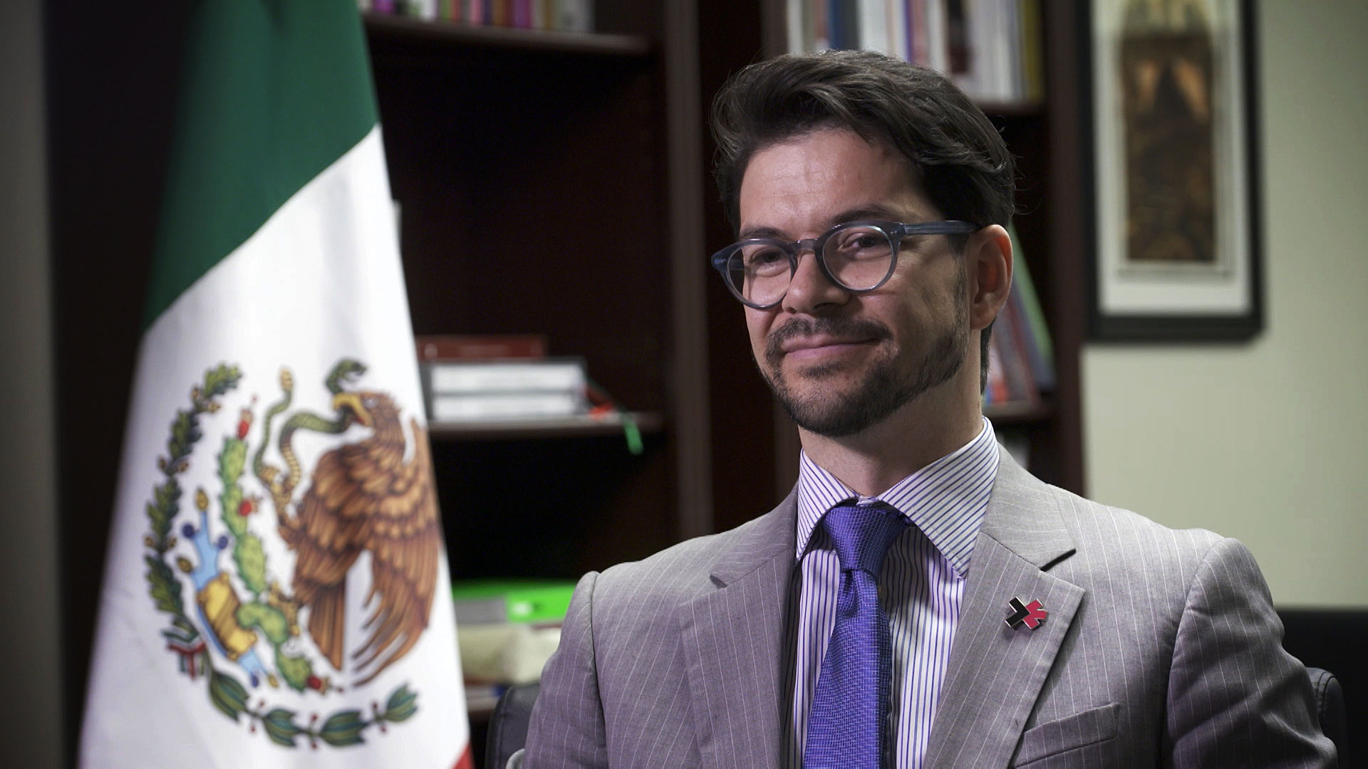 Consul Rafael Barceló Durazo of the Mexican Consulate in Tucson. August 24, 2020.