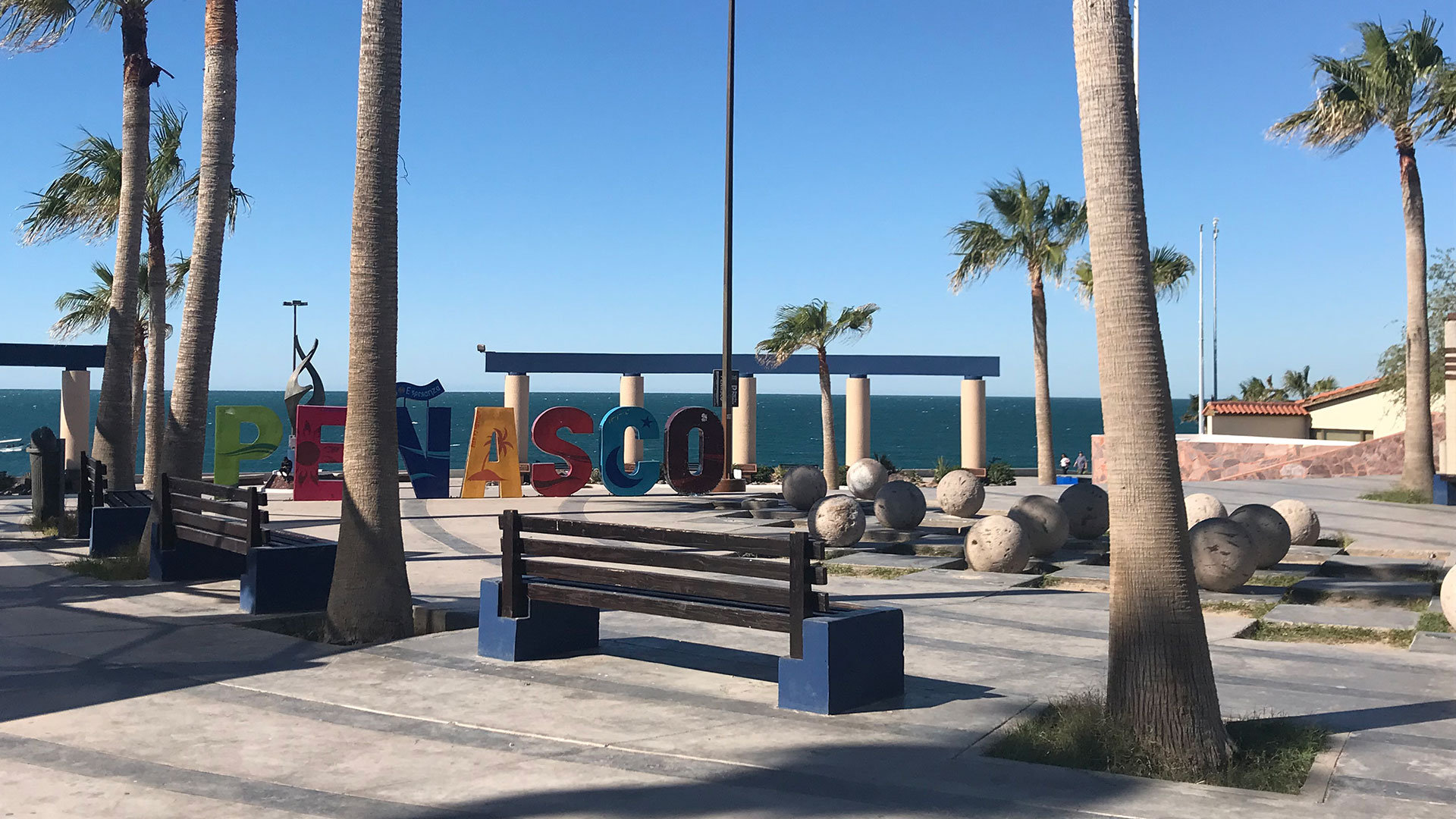 Puerto Peñasco (Rocky Point), Mexico attracts thousands of visitors from Arizona and other places who are seeking sun, sand, and surf.  This photo was taken in November 2018.