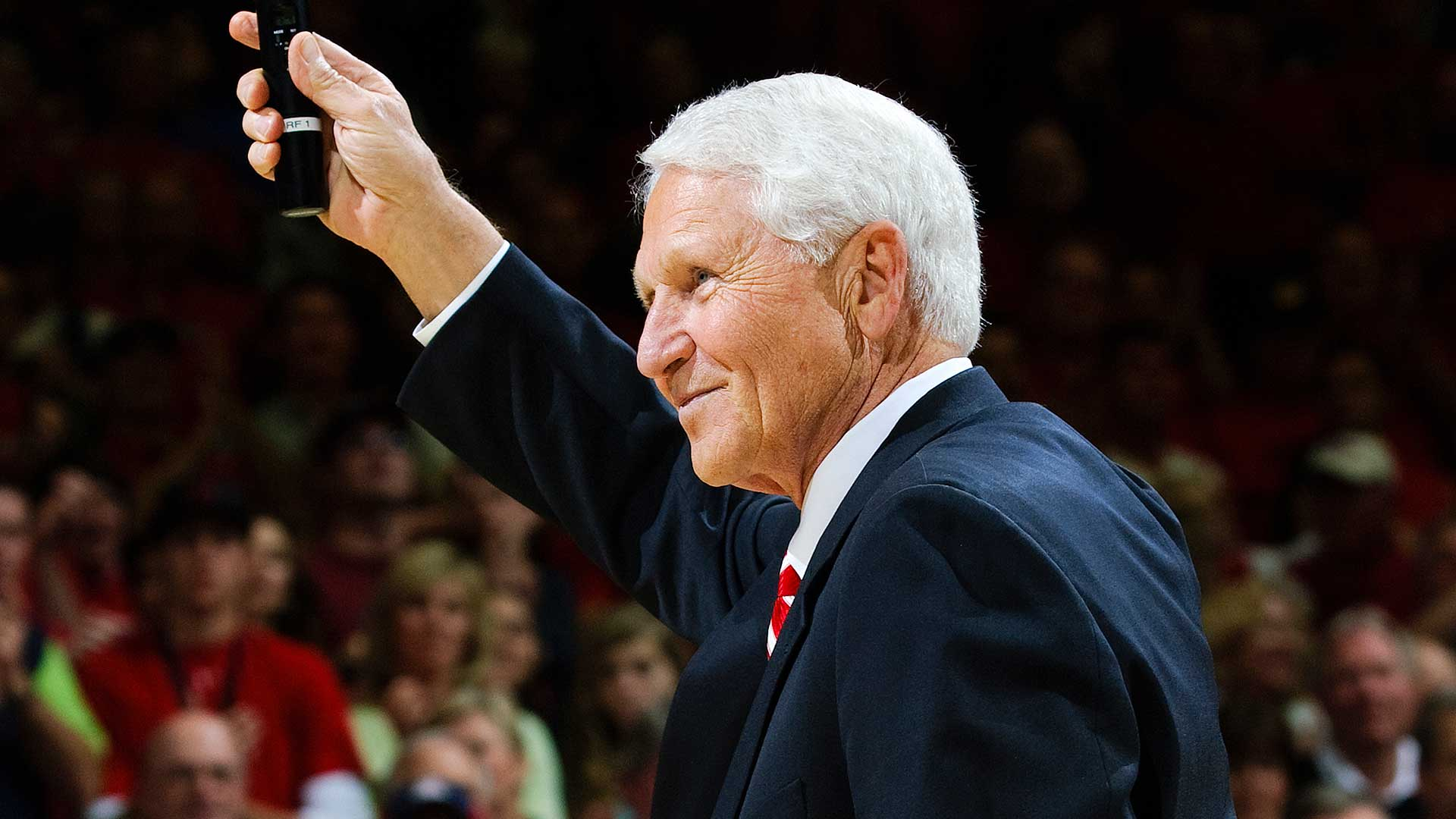 Lute Olson in March 2009.