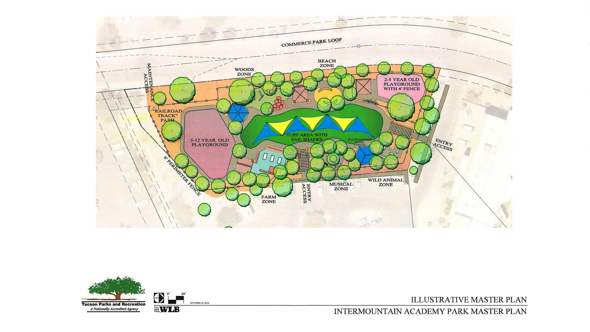 Plans for a sensory park in Tucson, where children on the autism spectrum can play safely.