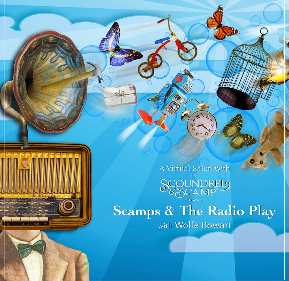 scamp radio half hour poster spotlight