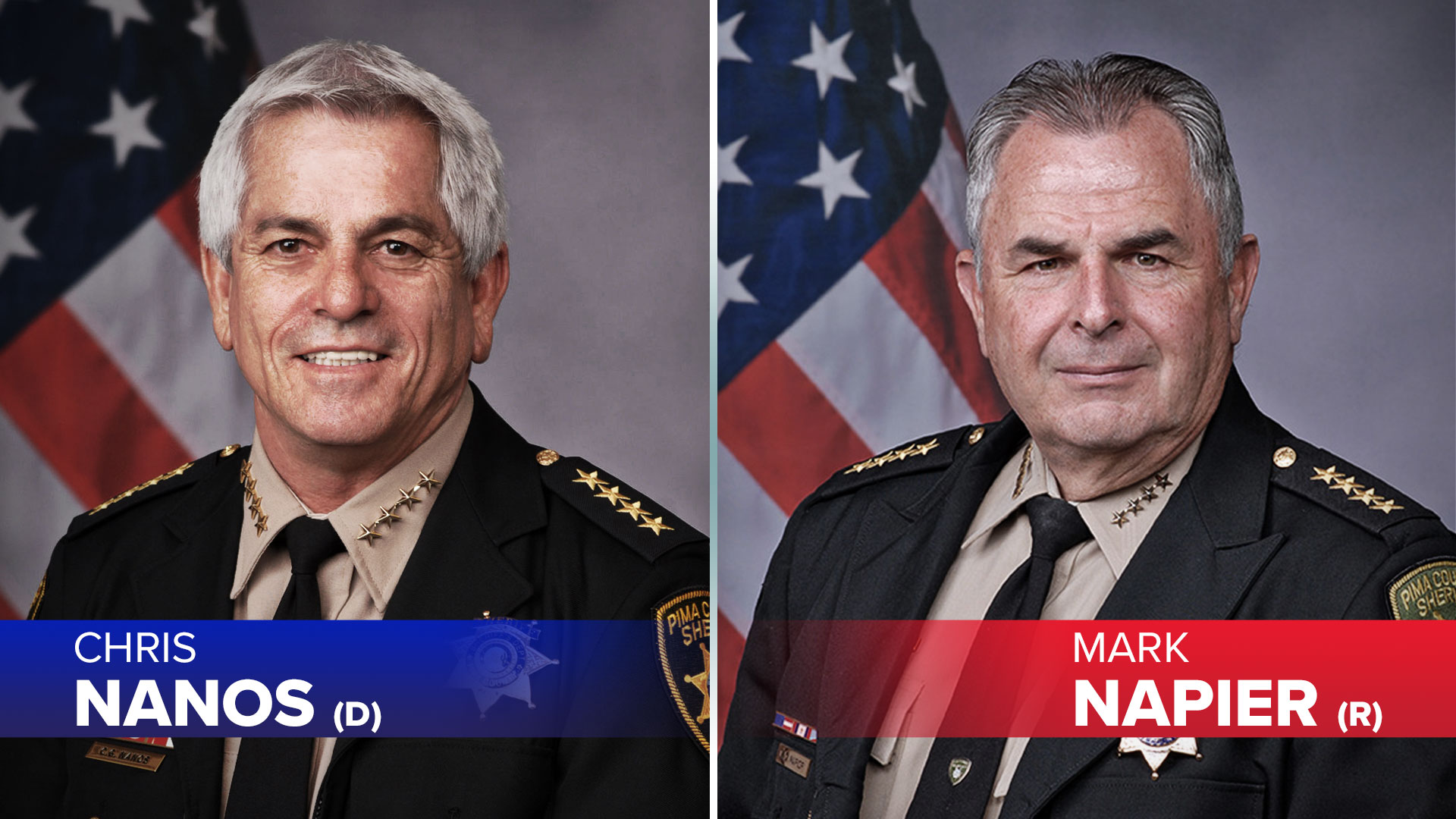 Candidates for Pima County Sheriff in the 2020 general election.
