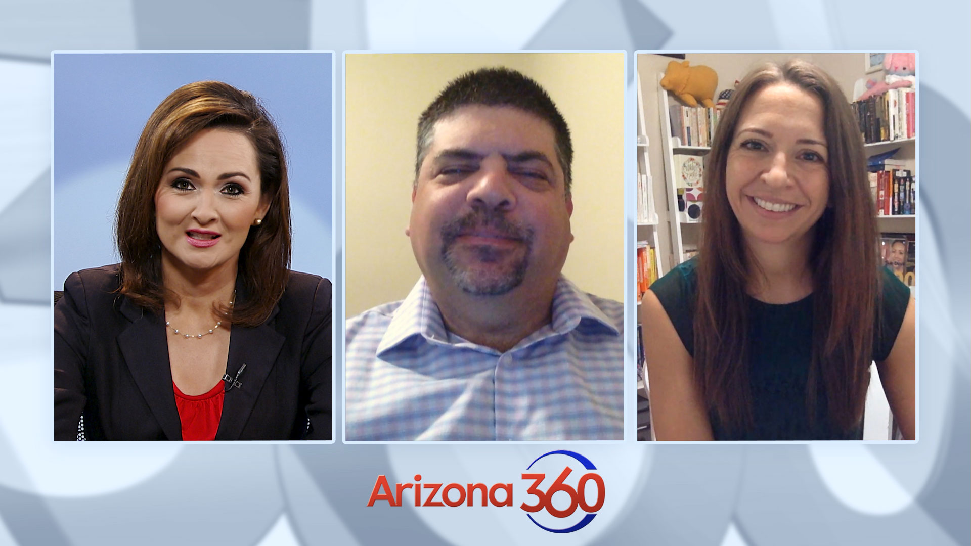 Arizona 360 host Lorraine Rivera interviews Republican consultant Barrett Marson and Democratic consultant Catherine Alonzo on September 2, 2020.