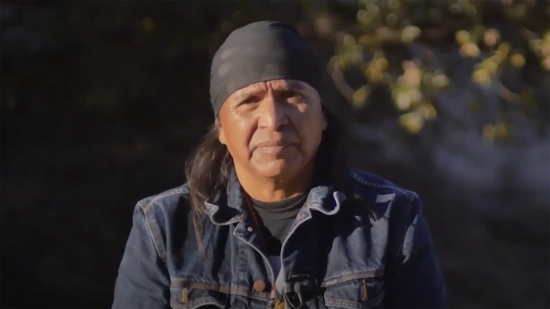 Screenshot of Wendsler Nosie Sr., founder of Apache Stronghold, in a call-to-action video published the week the Jan. 15 U.S. Forest Service environmental impact statement was due to be published.