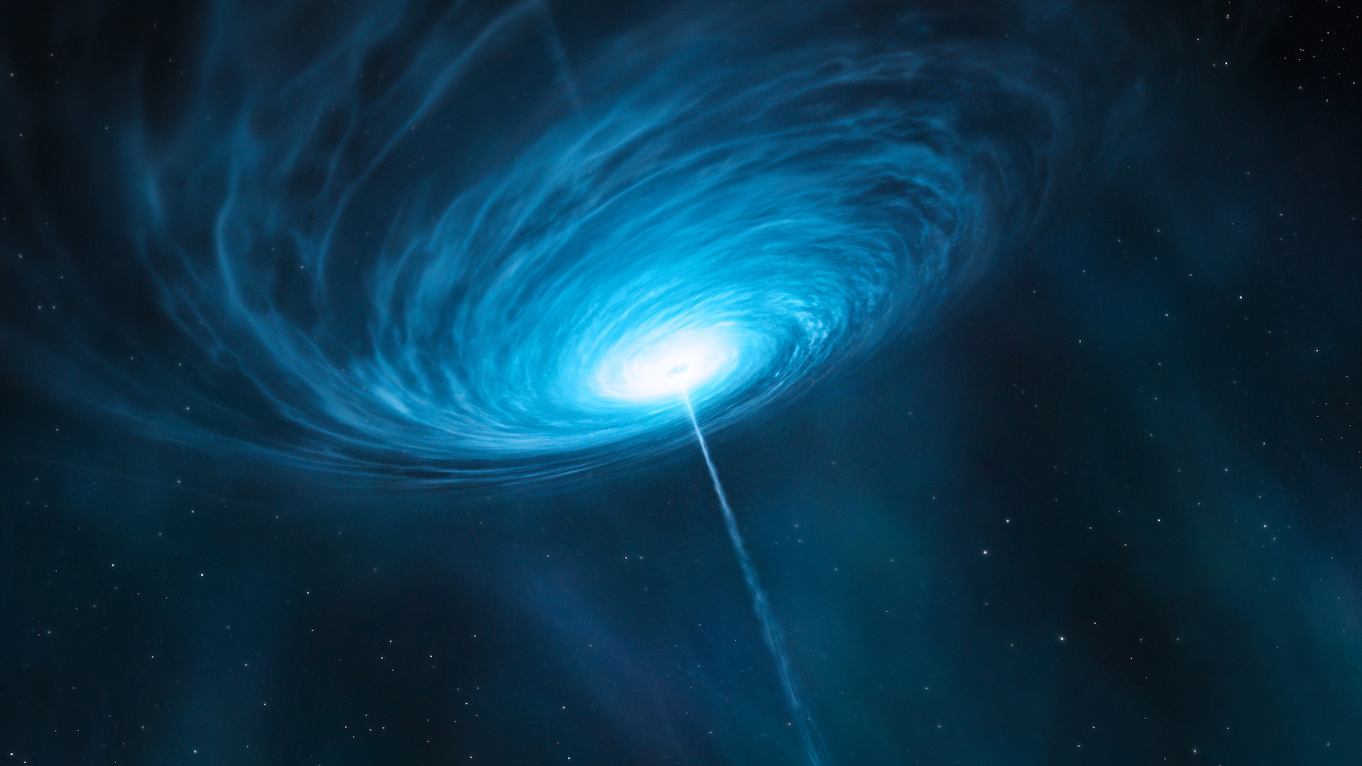 Quasars are the very bright centers of distant galaxies that are powered by supermassive black holes.