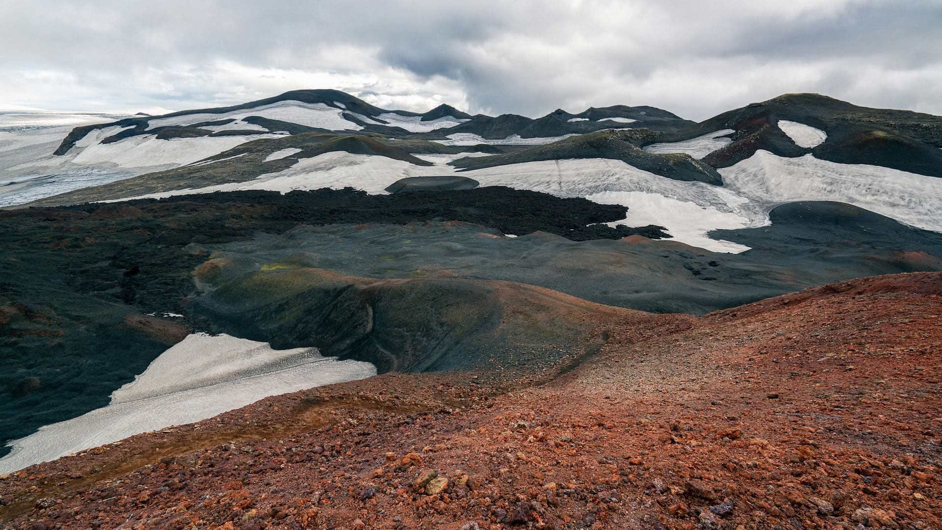 Scientists often compare the landscape of Iceland to that of another planet, like Mars.