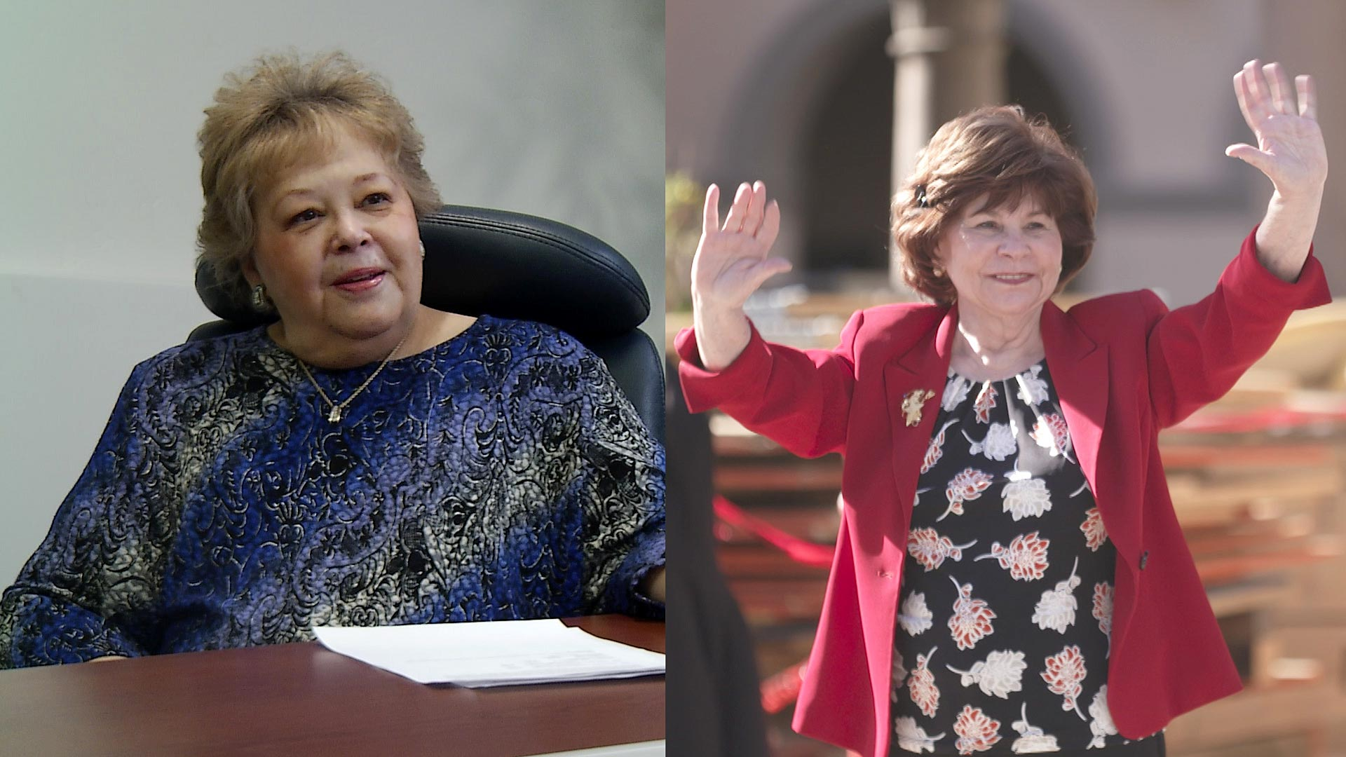 A photo composite shows former Pima County Recorder F. Ann Rodriguez (left) and former Pima County Attorney Barbara LaWall (right).