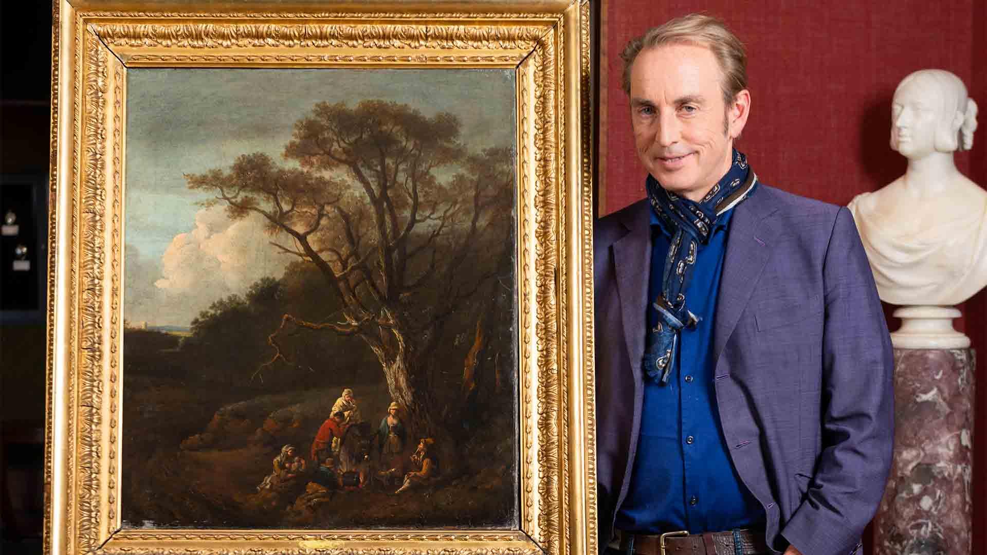 "Fake for Fortune ""A Landscape - Thomas Gainsborough"""