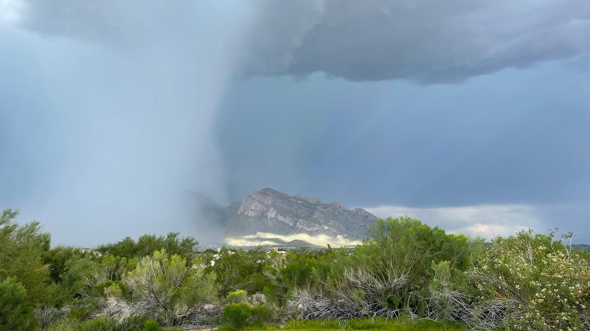 Storm over Pusch Ridge, Monsoon 2021