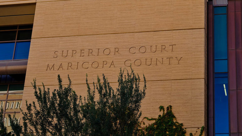 Maricopa county superior courthouse