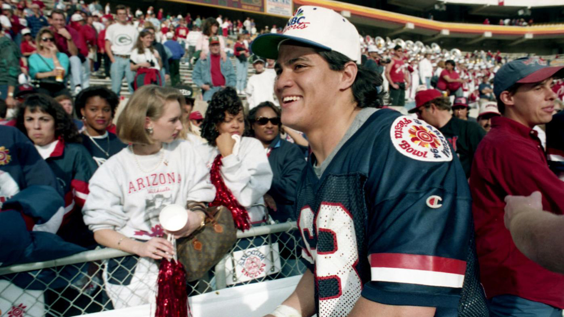Former Arizona legend and NFL star Tedy Bruschi