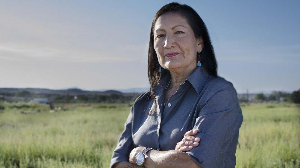 Biden administration's nominee for Secretary of Interior, Rep. Deb Haaland