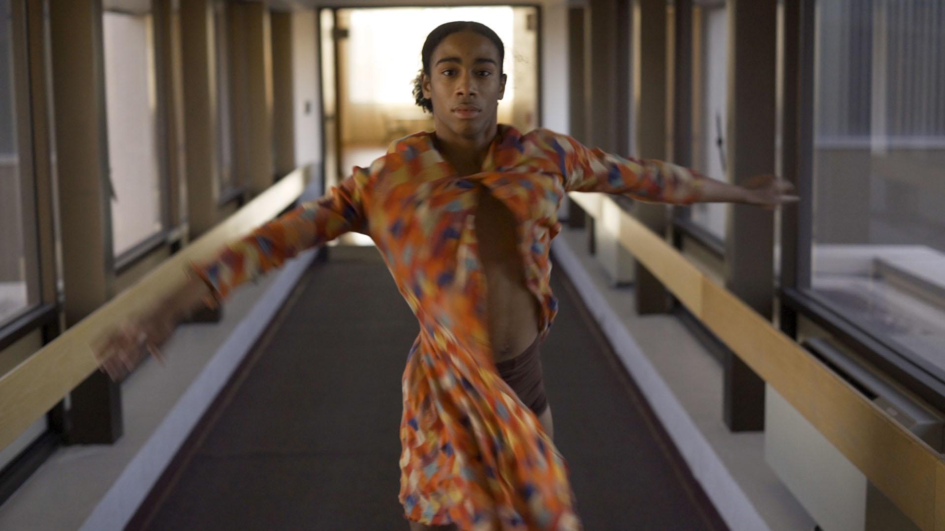 "JaVonte' Marquez dancing in a scene from ""Retrograde Lemonade""."