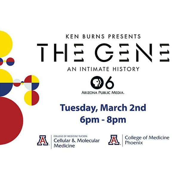 Screening and panel discussion of THE GENE: AN INTIMATE HISTORY