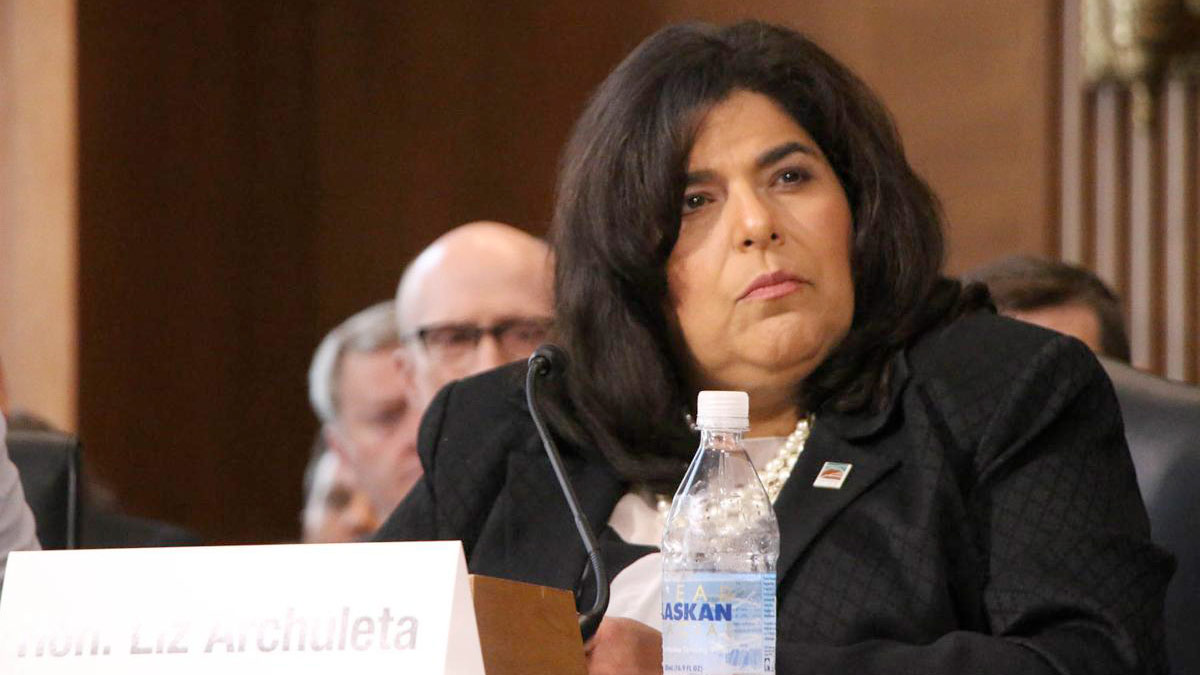 Liz Archuleta, who resigned from the Coconino Board of Supervisors to accept an appointment in the Biden administration