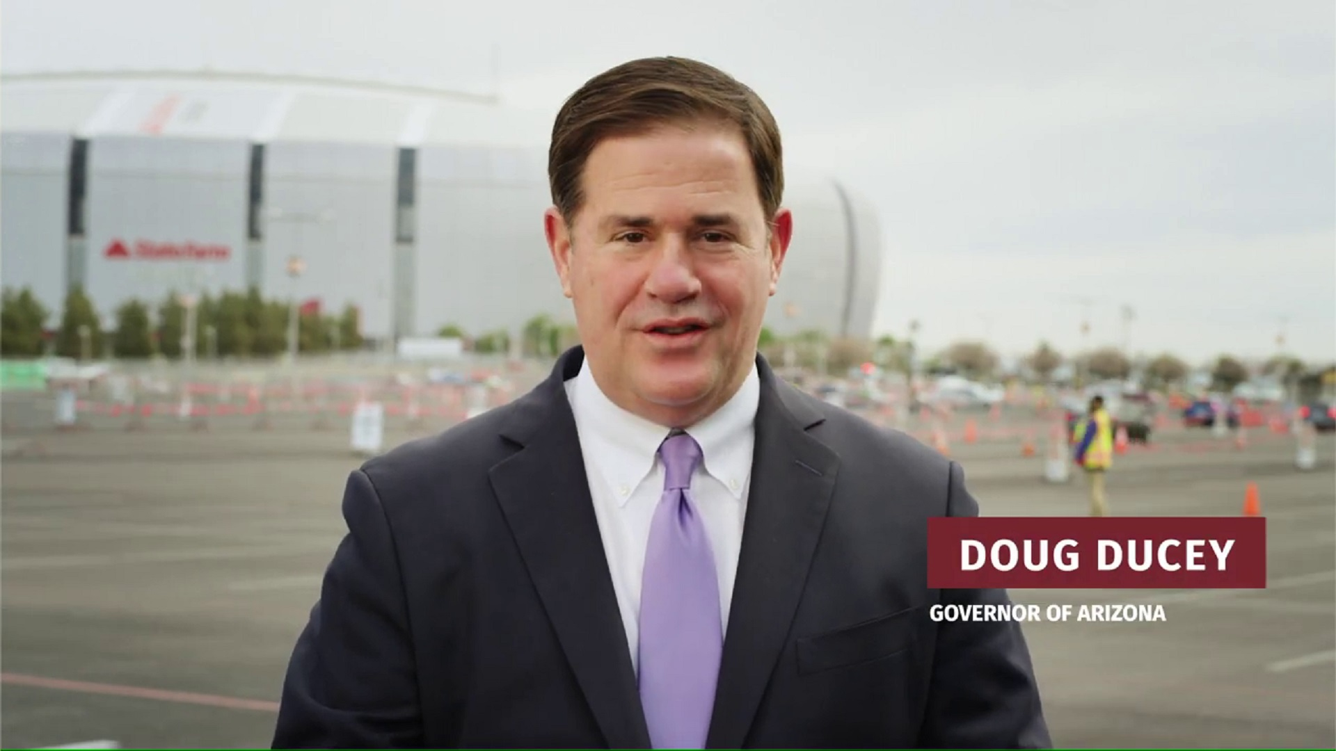 Governor Doug Ducey urges Arizonans to get their COVID-19 vaccination in a public service announcement released March 23, 2021.