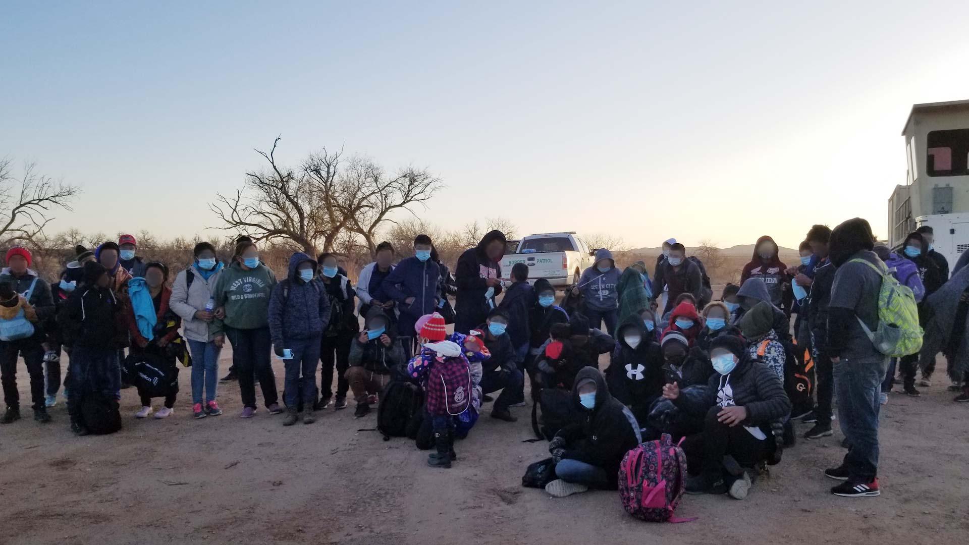 360 sasabe cbp migrant group