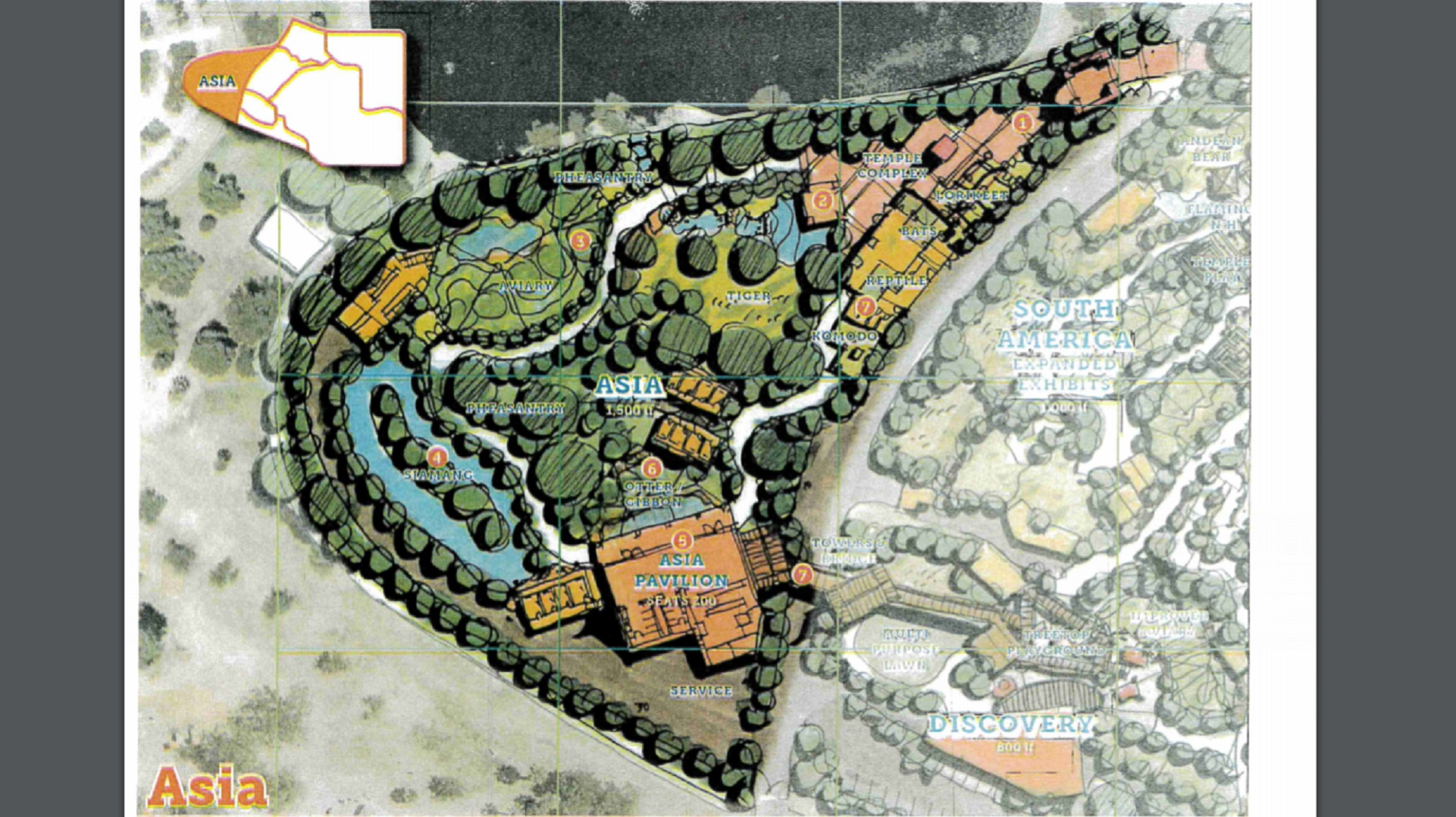 "The City of Tucson's 2018 Master Plan for Reid Park Zoo calls for turning the Park's Barnum Hill into a ""Pathway to Asia"" exhibit."