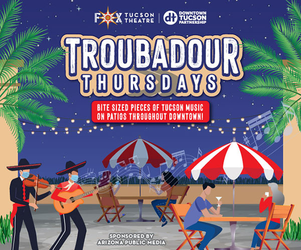 Troubadour Thursdays at Fox Tucson Theatre