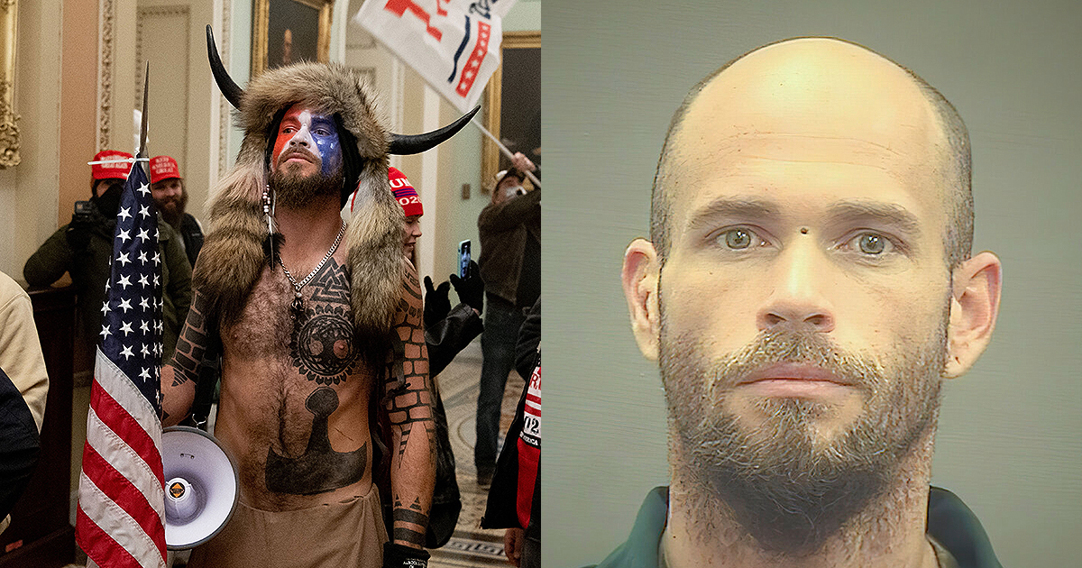 "Jacob Chansley - self-styled ""QAnon Shaman"" played an active role in the siege of the U.S. Capitol on Jan. 6, 2021"