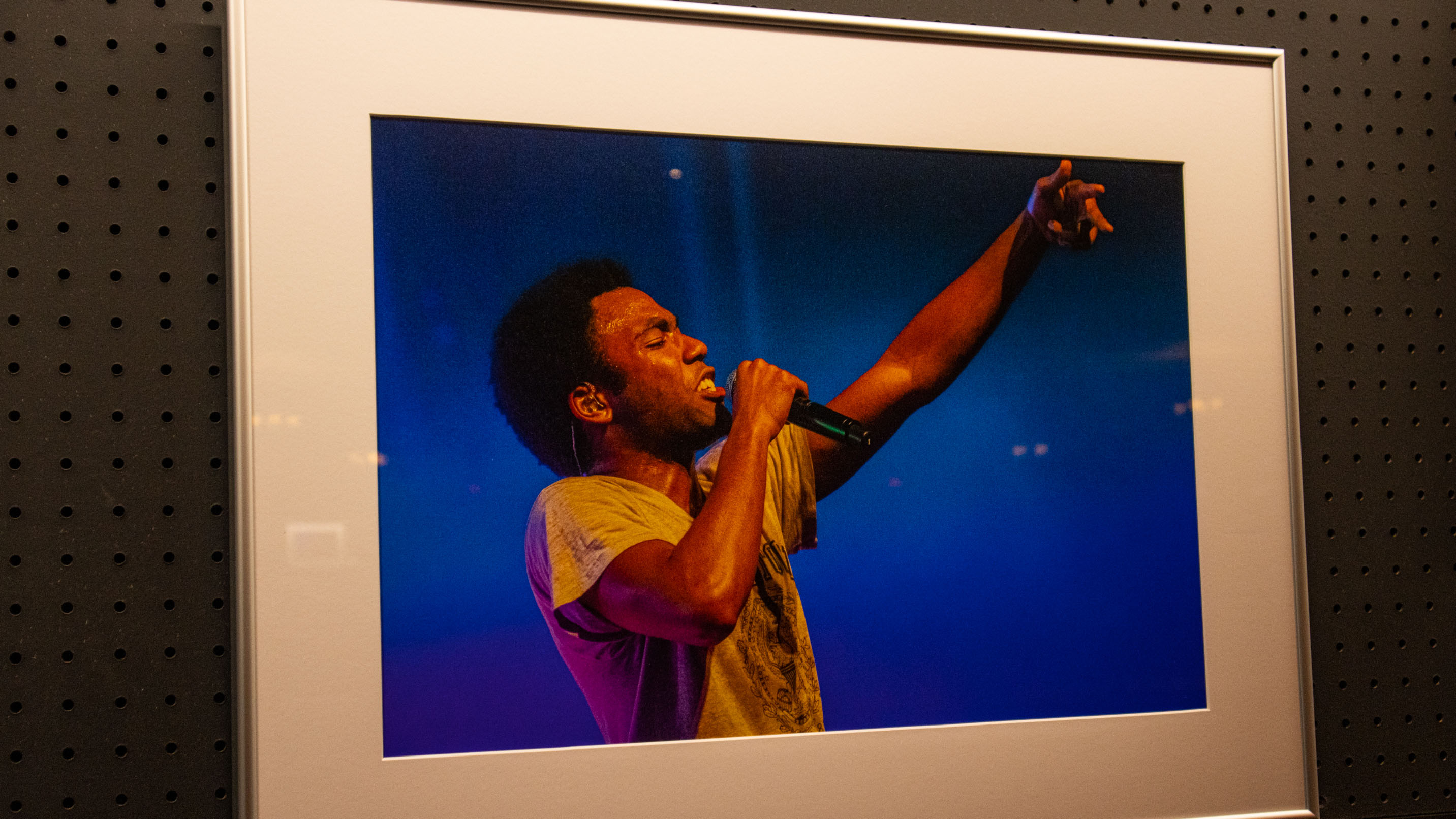 childish gambino portrait  spotlight