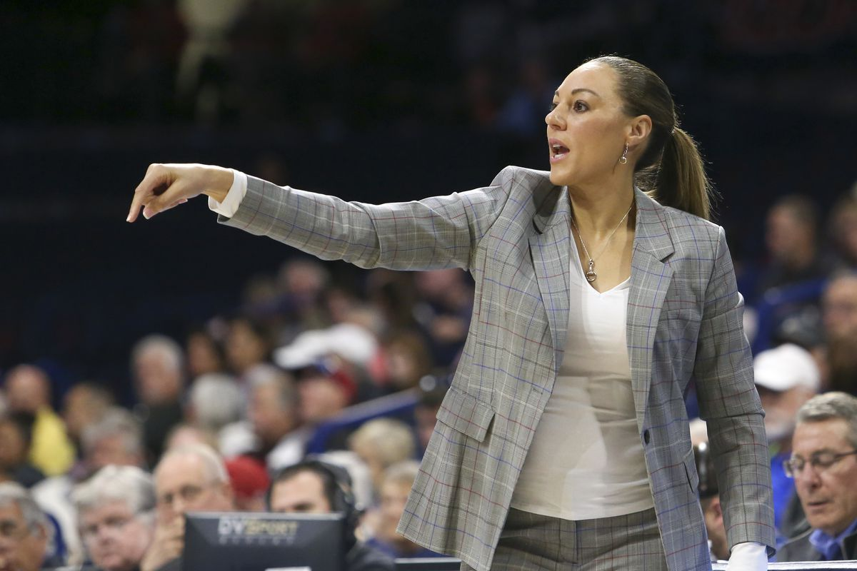 University of Arizona Women's Basketball Coach Adia Barnes