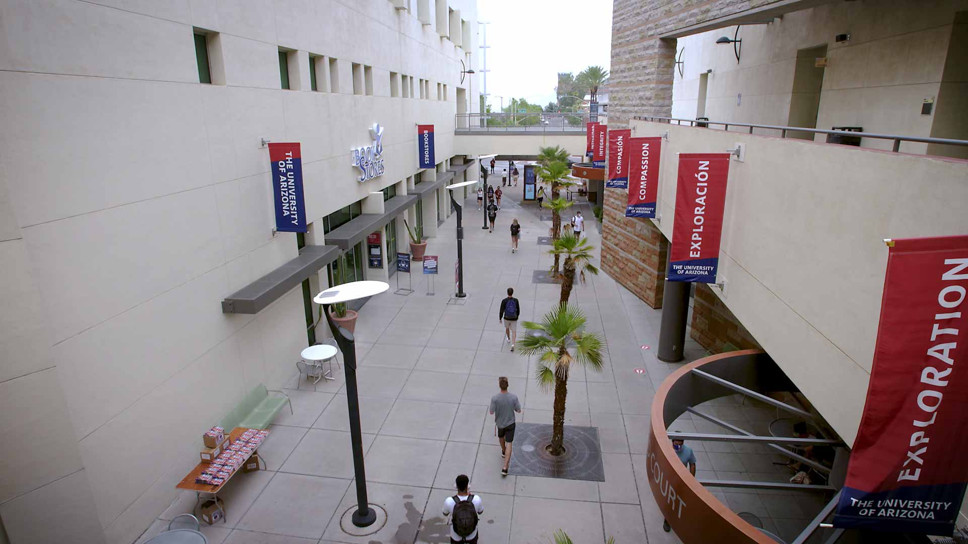 The Student Union Memorial Center at the University of Arizona.