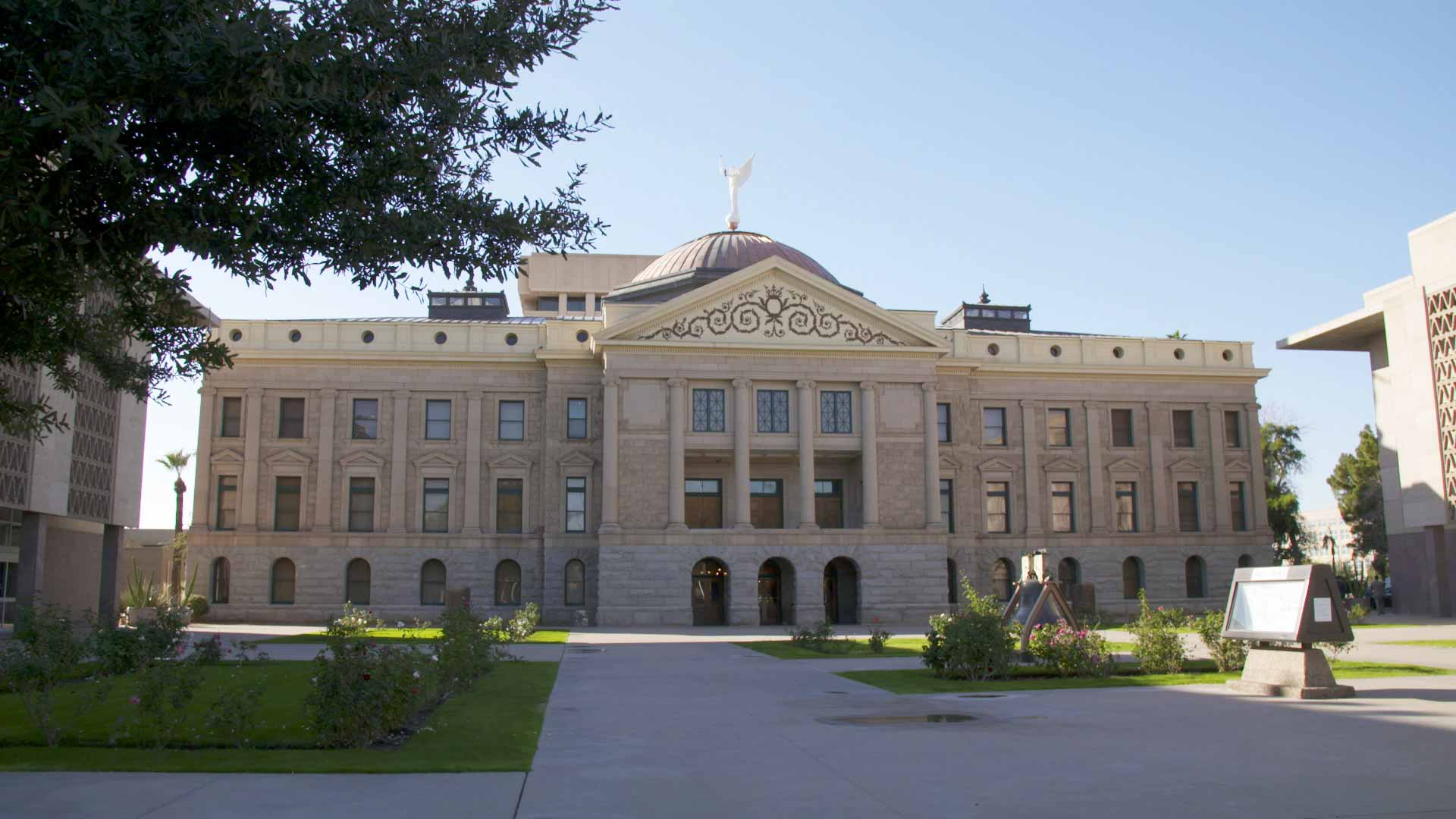 The Arizona Capitol Museum building at the State Capitol in Phoenix.