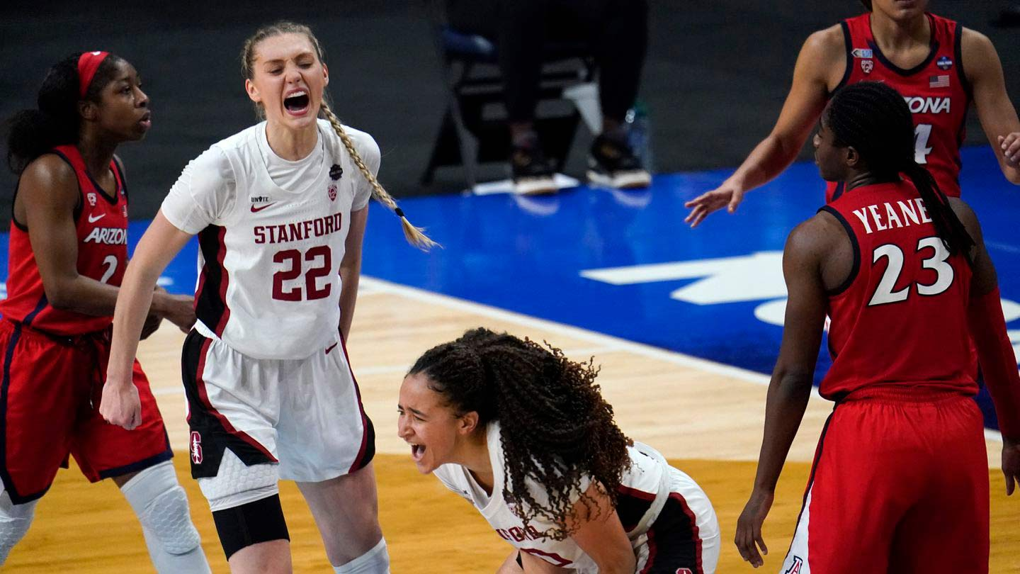 Stanford Cardinals hold off Arizona Wildcats to win 2021 NCAA Women's basketball championship