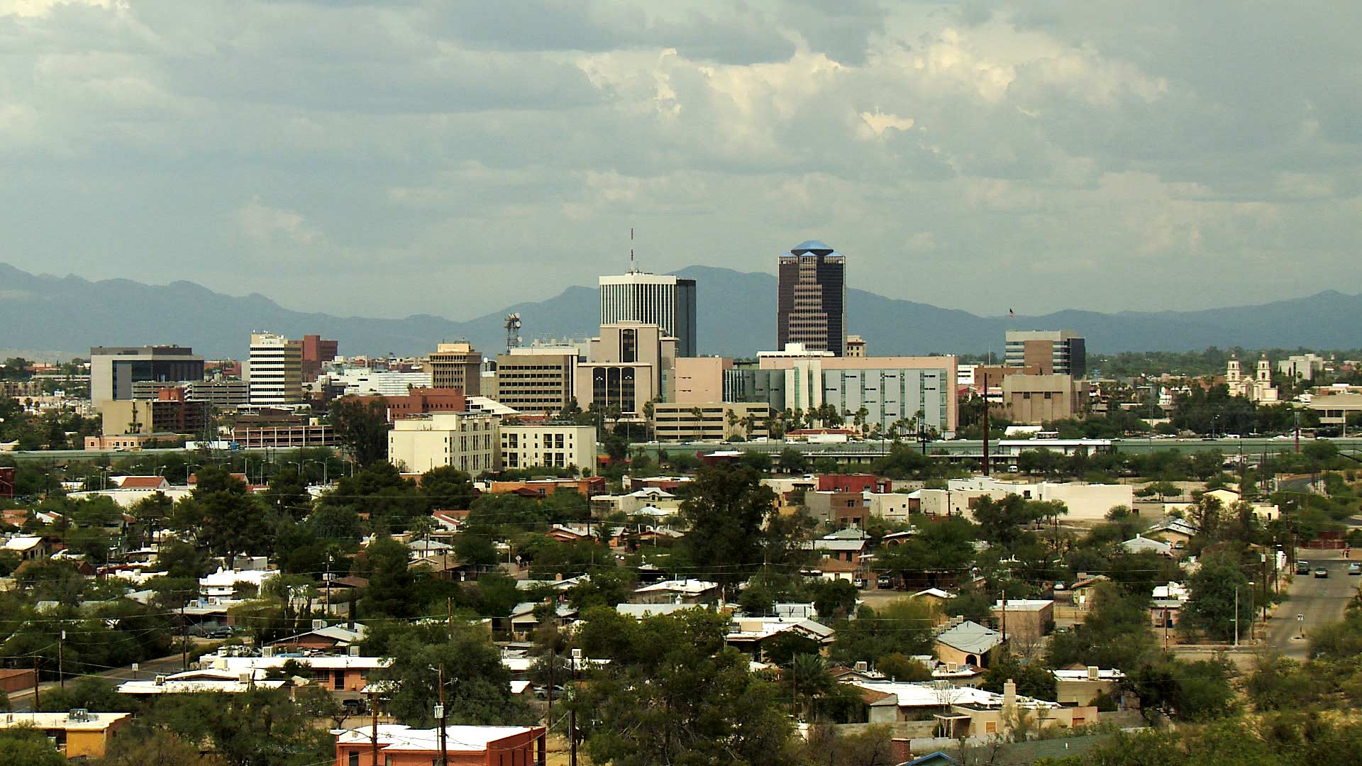 File image of the downtown Tucson skyline.
