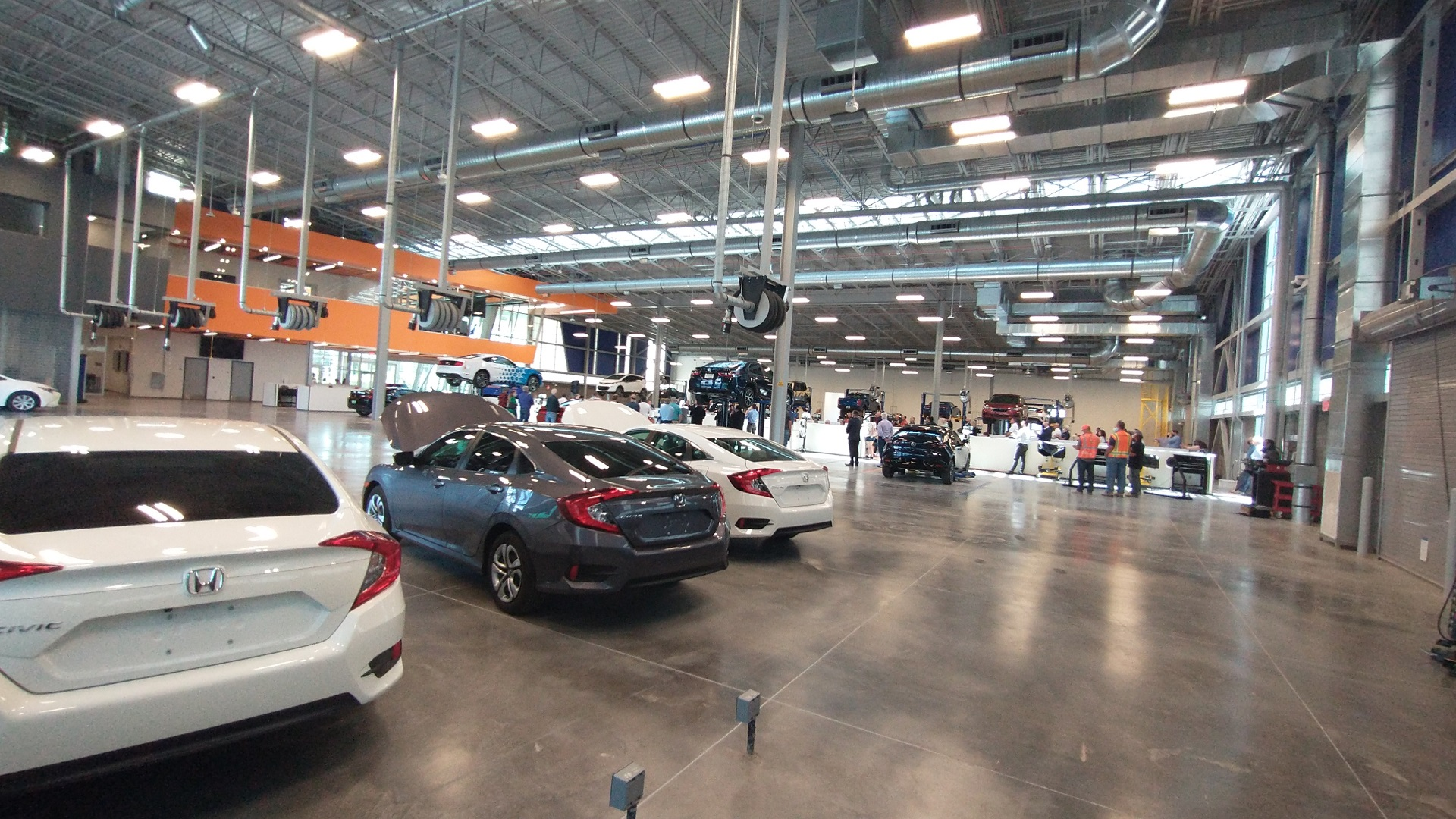 The new Automotive Technology and Innovation Center at Pima Community College was dedicated in May 18, 2021.  The center will offer students education in the technology of both internal combustion and electric vehicles.