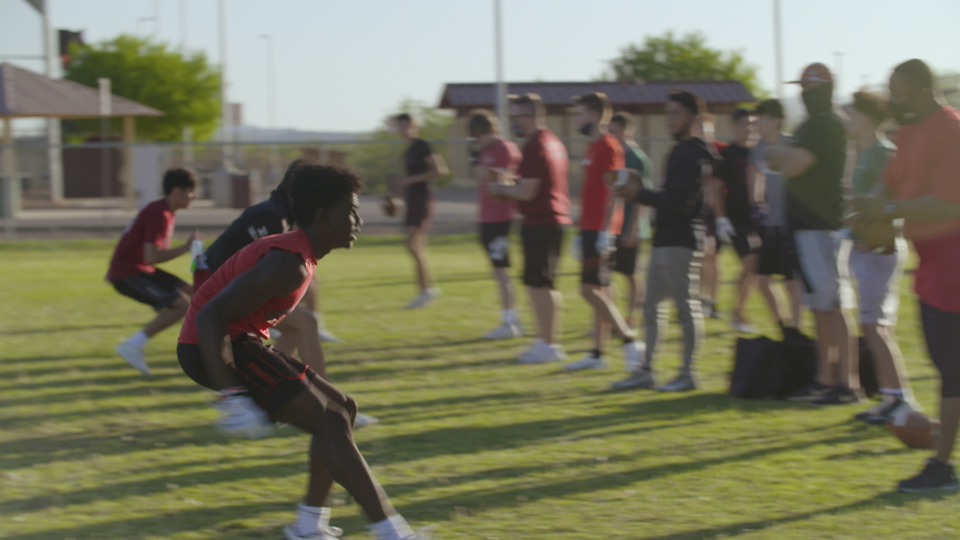 Walden Grove High School football at practice May 2021.