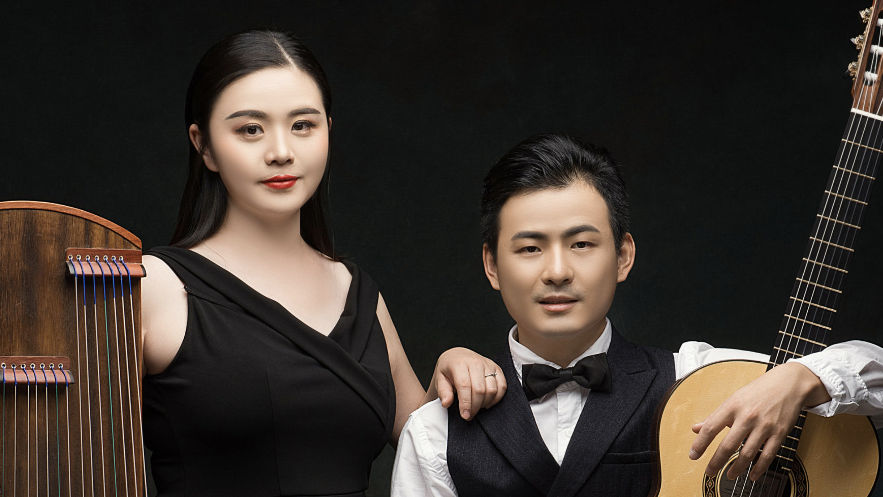 Jing Xia and Bin Hu perform together as Duo Chinoiserie.