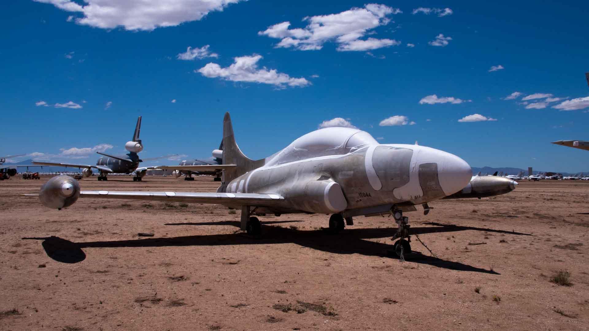 Longest plane at AMARG HERO