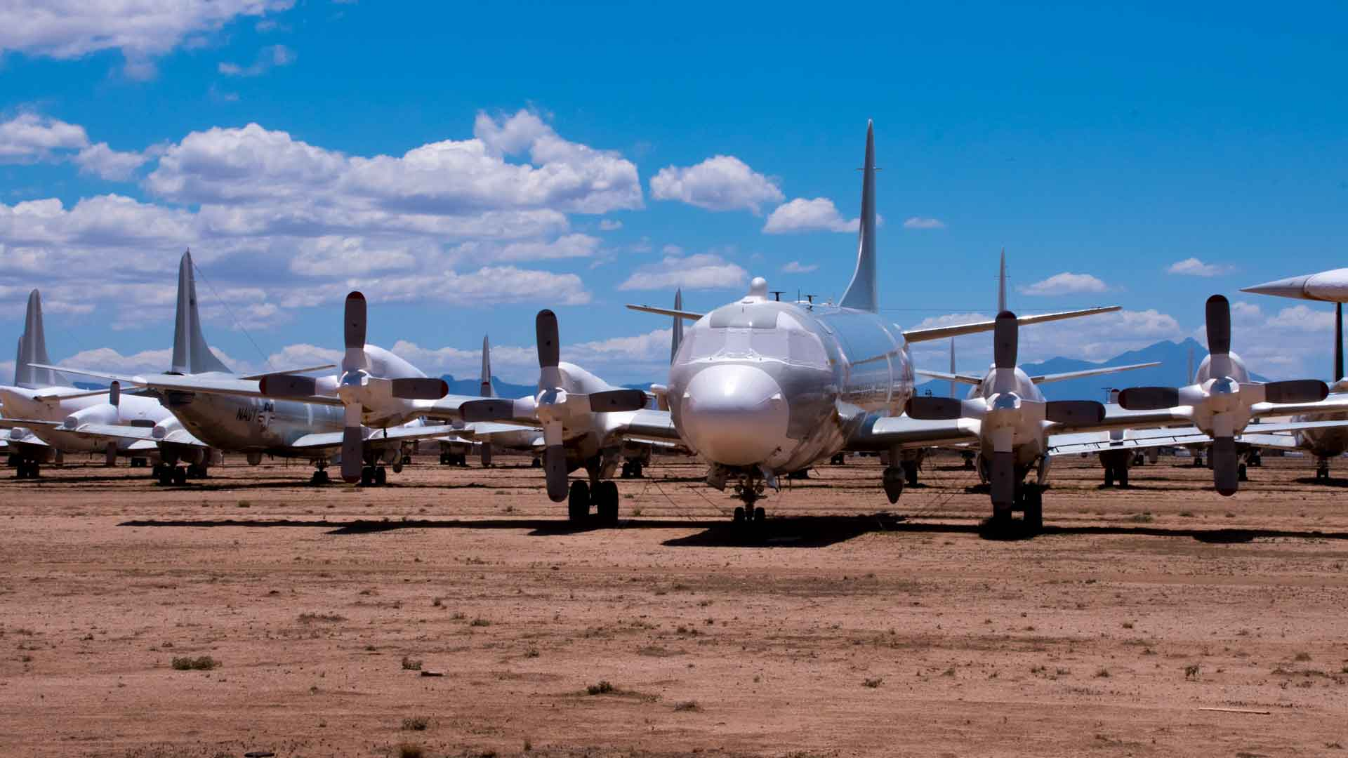 Planes at AMARG HERO