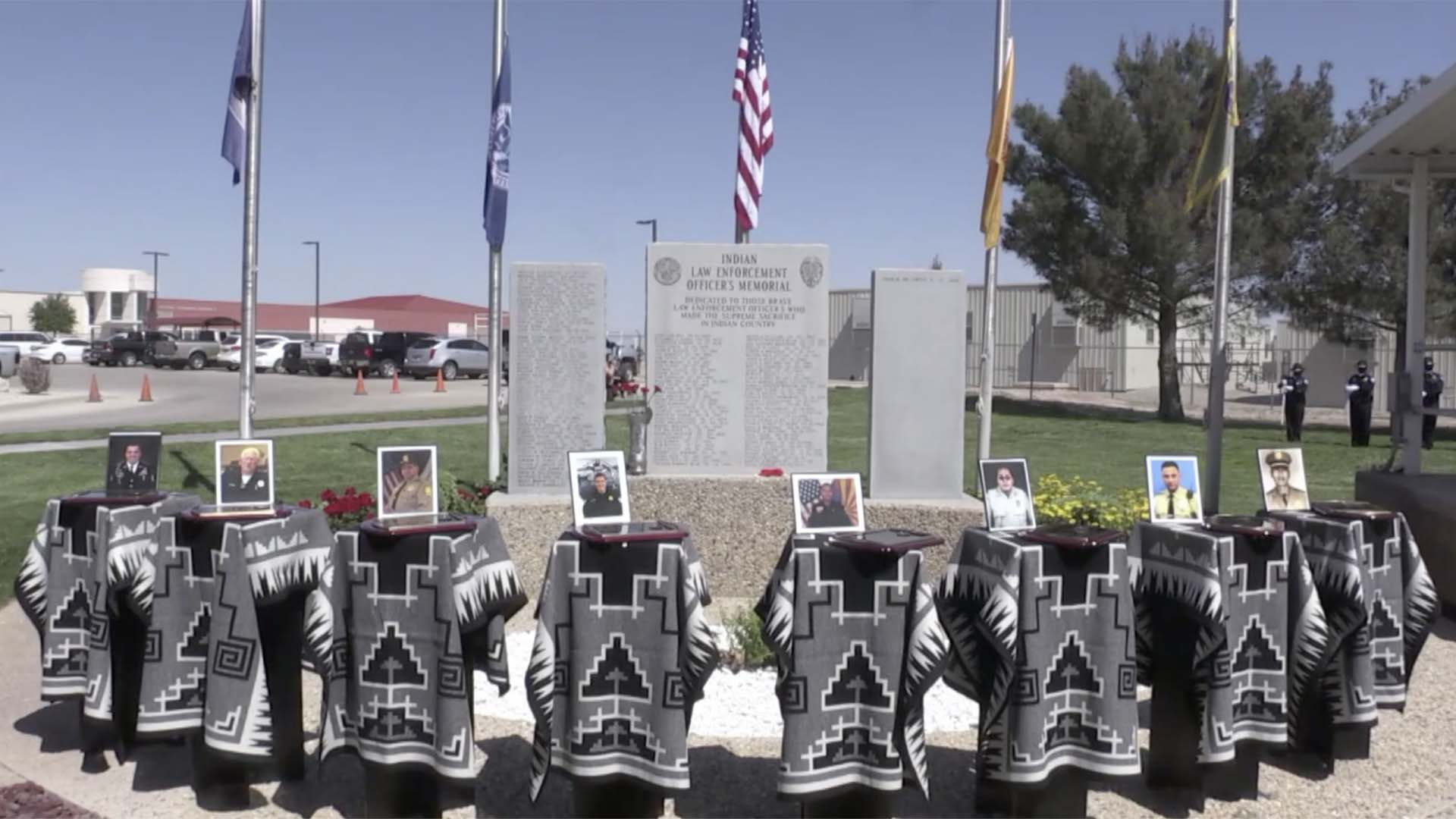 The Bureau of Indian Affairs U.S Indian Police Academy May 6, 2021, virtually honored eight tribal officers who died in the line of duty. One was officer Officer Bryan Brown of the Tohono O'odham Nation Police Department.