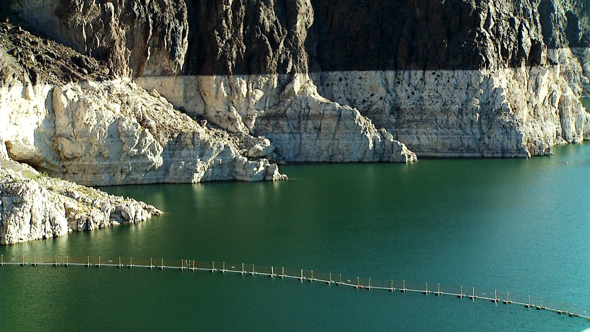 File image of a cliffside at Lake Mead.