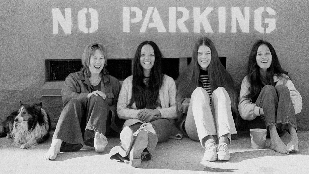 Fanny, circa 1972: Nickey Barclay, Jean Millington, Alice de Buhr & June Millington.