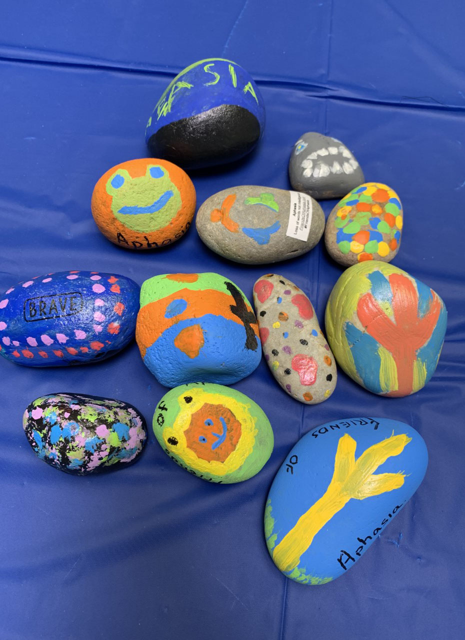 friends of aphasia stones unsized