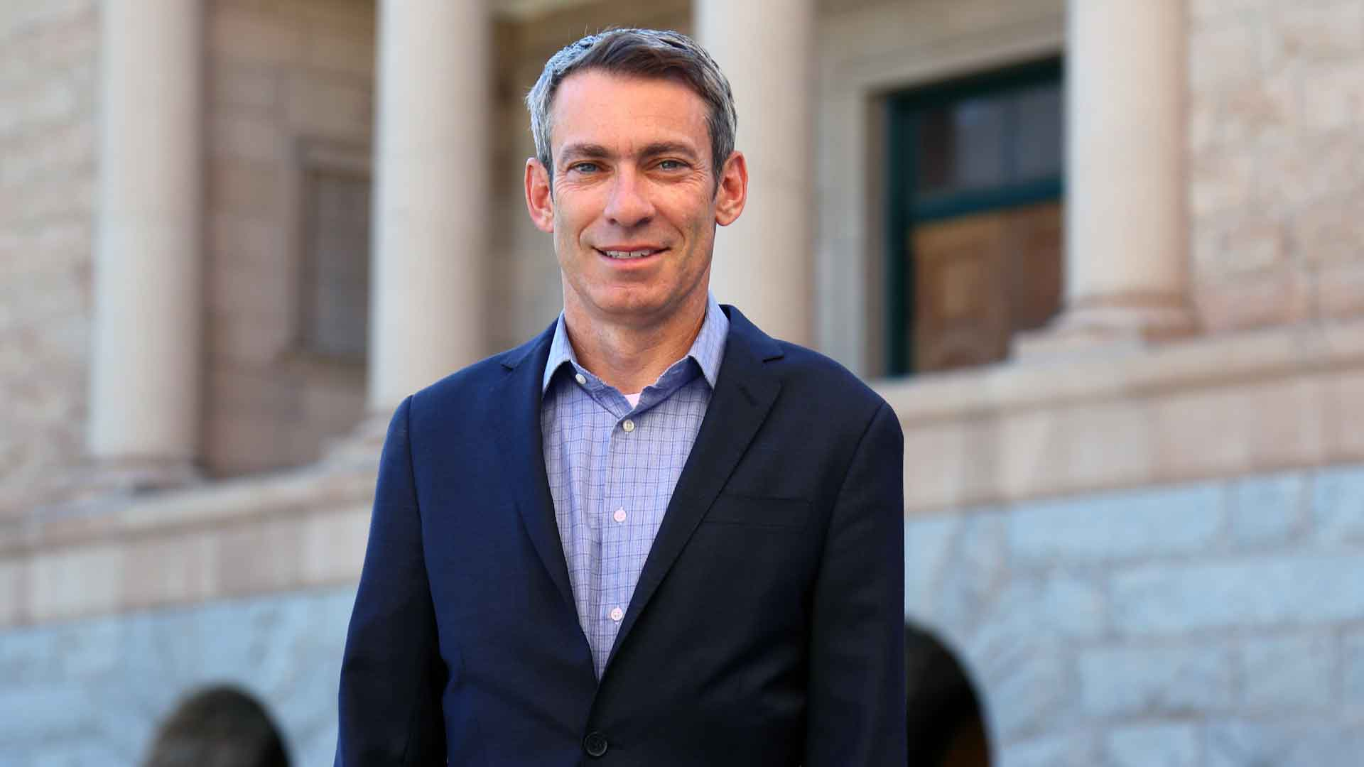 State Rep. Aaron Lieberman entered the Democratic gubernatorial primary in June 2021.