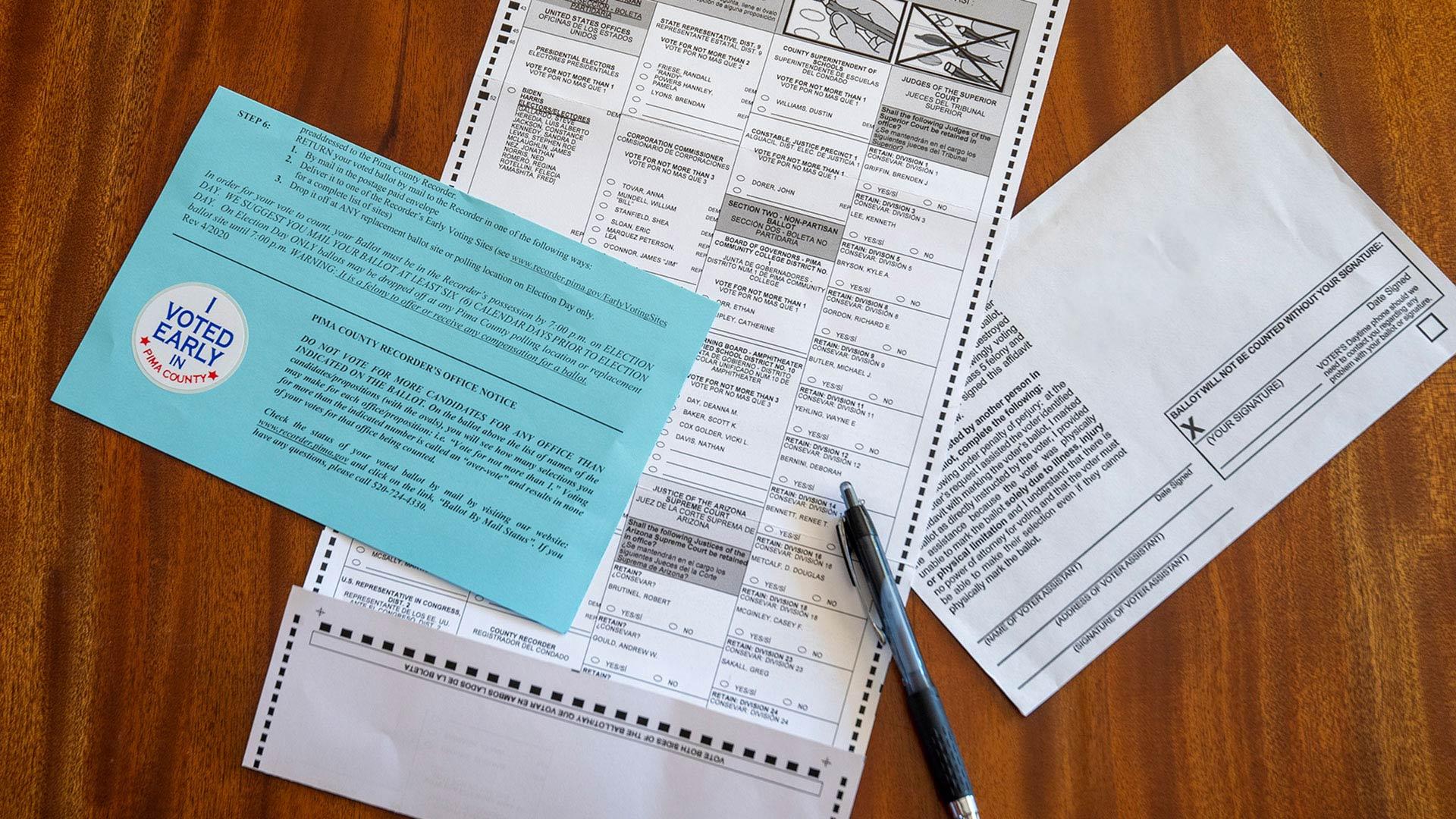 Vote 2020: Mail-In Ballot