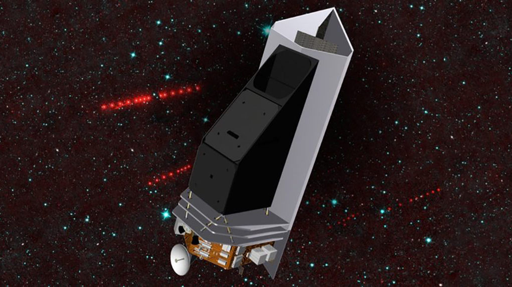 The Near Earth Object Surveyor infrared telescope is moving toward its preliminary design phase, led by University of Arizona professor Amy Mainzer. NASA plans to launch the surveyor in 2026.