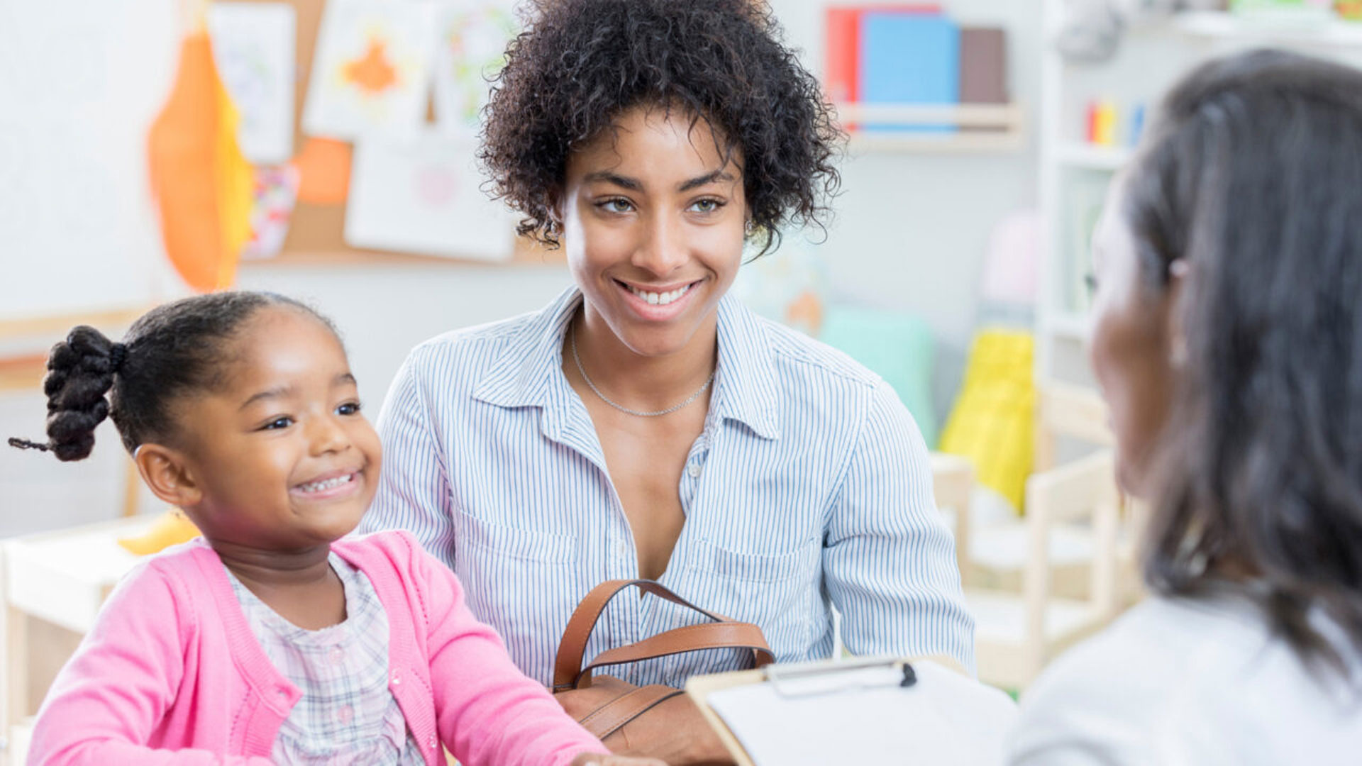 Work with your child's teacher can work together to support your child's learning success.