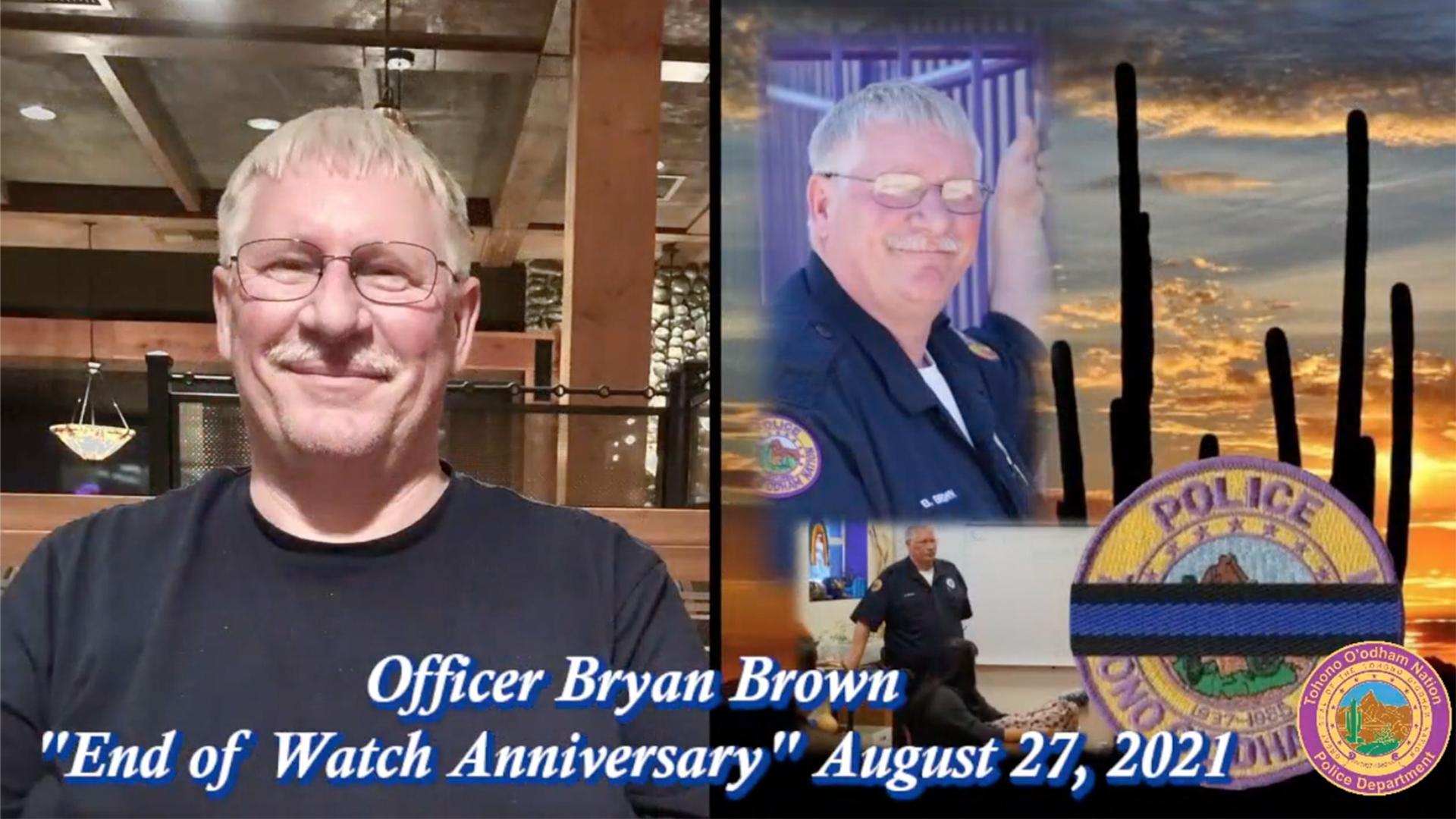 Officer Bryan Brown headshots