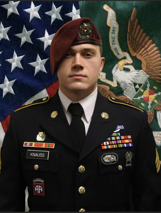 npr news soldier kabul Knauss