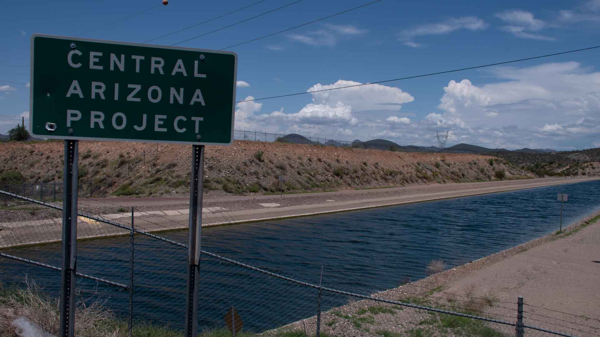 The Central Arizona Project moves water from the Colorado River to southern Arizona. July 2021