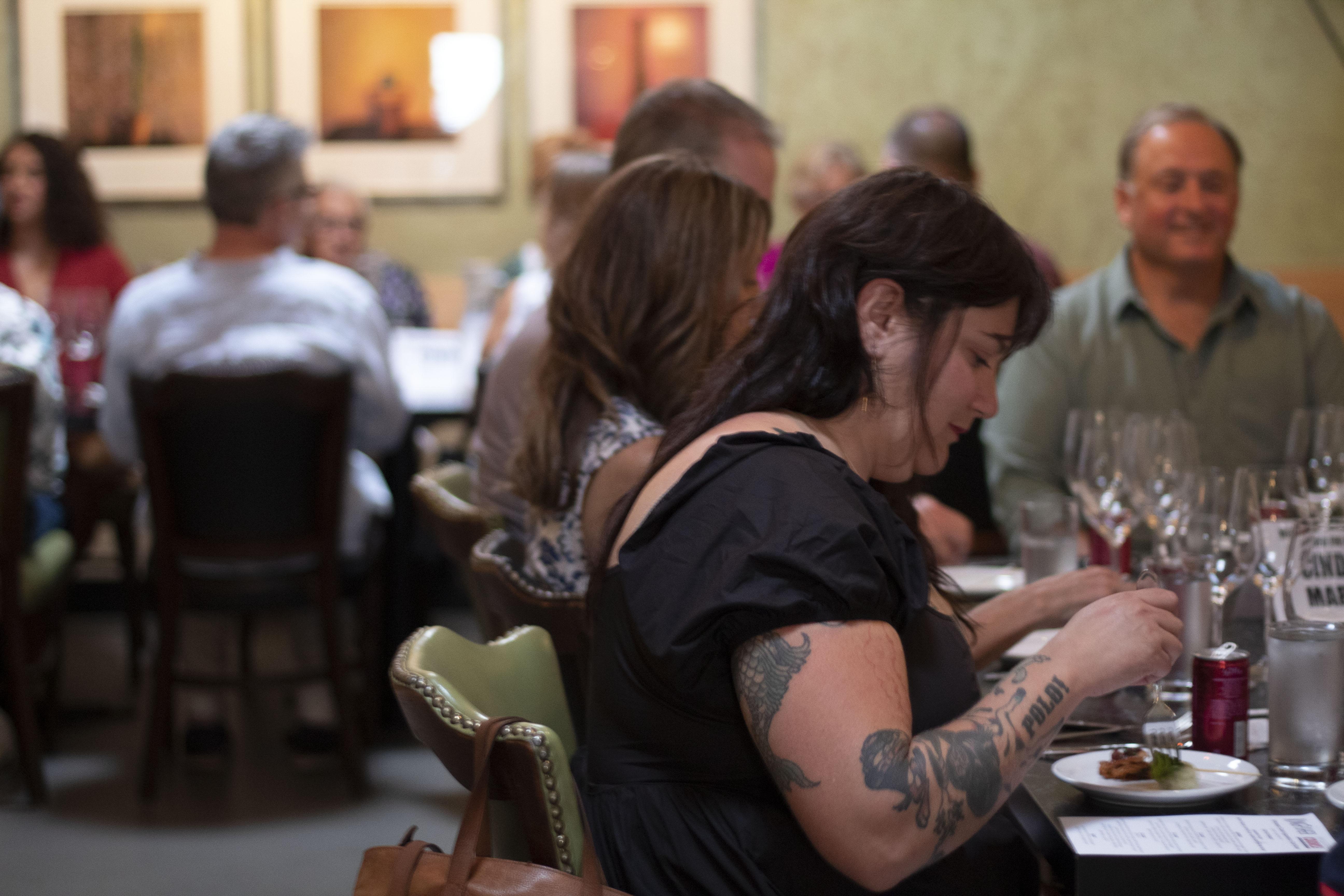 housing fundraising dining room